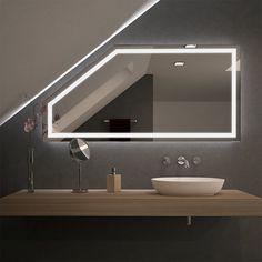 Spiegel für Dachschrägen mit LED Beleuchtung Fiola 989707058