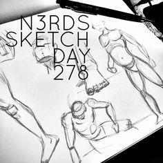 Practices #practice #anatomy #practicebasics #sketchaday #artlove #penandink #nerds #sketchbook #watercolors #brushpen #sketch_daily #artnerd #acompanyofn3rds #dopeart #imayneednewglasses  #art_boost #n3rds #blerds #geeks #illustration #camu #moleskine #arts_help #artists_community  #Iamanartist