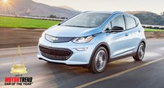 Chevy Bolt namens 2017 Motor Trend Car Of The Year Award Car Of The Year Chevrolet Chevrolet Bolt Elon Musk Ford Ford F-Series Mercedes Mercedes GLC Tesla
