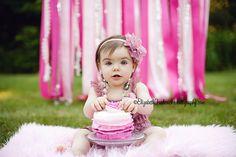 outdoor smash cake photos - Google Search