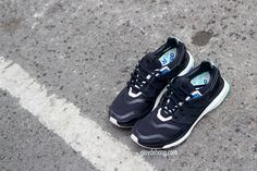 adidas Energy Boost   Black & Mint