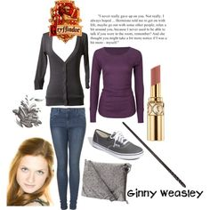 Ginny Weasley, created by calilove31 on Polyvore