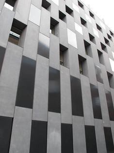 BLOCK OUT // PATTERNITY    ARCHITECTURE / BLOCKS / BUILDING / CUT OUT / EXTERIOR / FACADE / RECTANGLE / WINDOWS