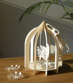 Paper Bird Cage - Wedding Decor