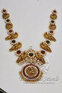Indian Jewellery and Clothing: Divine temple jewellery fom Tibarumal jewels..