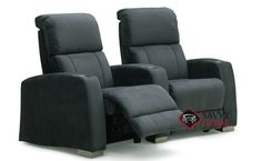 Hifi 2-Seat Reclining Home Theater Seating (Curved) by Palliser