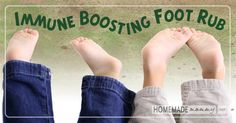 Need an immune boost this cold/flu season? Try this amazing immune boosting foot rub recipe featuring Thieves and Oregano essential oils!  Whenever I feel ...