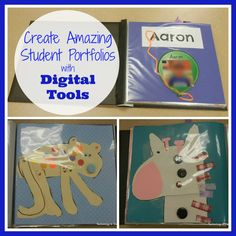 Using Digital Tools to Create a Portfolio for Your Students