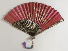 Chinese fan. c.1890 LACMA