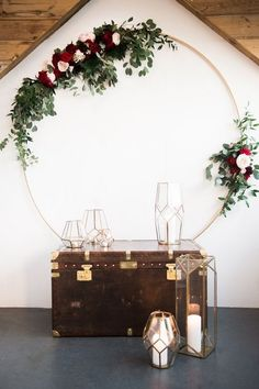 boho wedding backdrop decoration ideas with geometric lanterns #weddingdecor #weddinglights #weddinglanterns #lanterndecorations #weddingideas