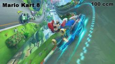 Let's Play : Mario Kart 8 100 ccm Selection [WII U]