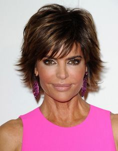 Lisa Rinna Hair  @ zena bilavsky. I like this
