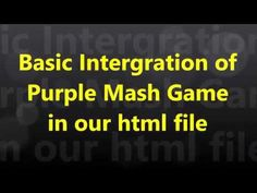 A Bryneven Primary School lesson exploring interacting and bringing in Purple Mash games into our hypertext markup language file. This course is the basis of. Mash Game, Markup Language, School Lessons, Primary School, Exploring, Platform, Coding, Games, Purple