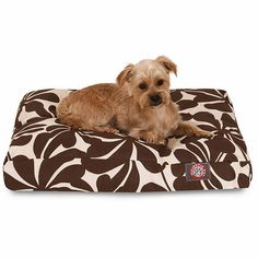 Majestic Pet - plantation rectangle dog bed    #dogs #dogbed #majesticpet #pets #pethealth #bed #doglovers #dogmom #chocolate #chocolatebrown #plantation