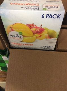 NEW Kabrita Goat Milk Yogurt & Fruit - Mango Peach - 4 oz - 6 pack #kabrita