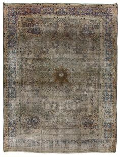 Tabriz Perisan Antique Rug Number 17691, Antique Persian Rugs | Woven Accents