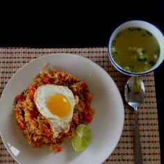 I have very good friends! Nasi Goreng I could it this daily and did when I was in Thailand!