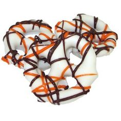 Fall Yogurt Covered Pretzels 1/2 lb bulk