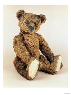 Teddy Bears Posters and Prints at Art.co.uk  Old Steiff bear.