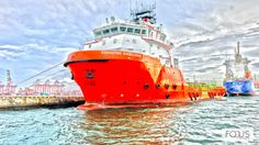 Harbour LK #Cargoships #HDR #Photography