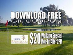 GK Coupon Buenaventura Golf Course Tee Time Special
