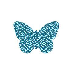 Appliqué papillon thermocollant Labo & si
