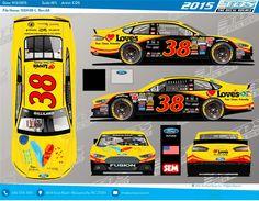Jayski's® NASCAR Silly Season Site - 2015 NASCAR Sprint Cup Series #38 Paint Schemes