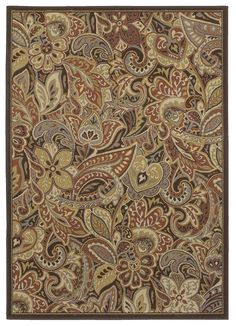 """HGTV Home Area Rug in style """"India"""" color Spice - Flooring by Shaw Hallway Carpet Runners, Cheap Carpet Runners, Plush Carpet, Rugs On Carpet, Brown Carpet Bedroom, Diy Carpet Cleaner, Green Carpet, Carpet Colors, Commercial Carpet"""