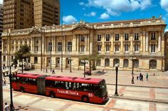 """In Bogota, Colombia the mayor decided to arrange a cycle path and to open a public bus service, popularly known as the """"transmilenio"""", to reduce the traffic in the capital city. The Beautiful Country, Beautiful Places, Colombian Culture, Colombia South America, Destinations, Largest Countries, Urban Life, Places To Travel, Around The Worlds"""