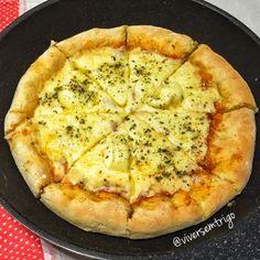 VIVER SEM TRIGO: Pizza Sem Glúten