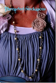 J. Crew-inspired threaded necklace tutorial