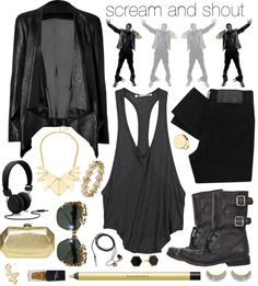 """""""Scream & Shout"""" by jess ❤ liked on Polyvore"""