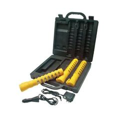 Aervoe 2051157 EMERGENCY LED BATON ROAD FLARE KIT YELLOW * Learn more by visiting the image link.(This is an Amazon affiliate link)
