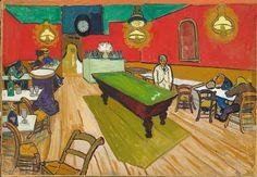 Gogh, Vincent van – Le Café de nuit, 1888 Bleistift/Aquarell/Gouache auf Papier
