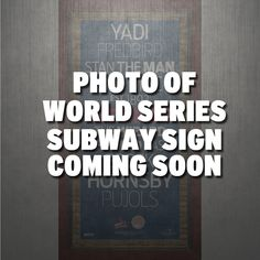 St Louis Cardinals 2013 World Series Champs 9.5x19 Framed Subway Sign - Commemorate the Cardinals 12th World Series title with this Steiner Exclusive Subway Sign Wall Art Piece. This vintage style subway sign rather than showing the stops along each subway line shows the stops along the Cardinals historic 2013 playoff run and includes authentic game-used dirt from Busch Stadium. This would be a perfect addition to your man cave or an unforgettable birthday or holiday gift.This subway sign…