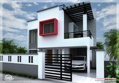 modern house | Modern house design in Chennai - 2600 Sq. Ft ...