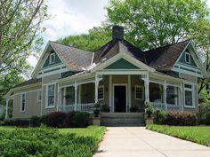 Corner House c.1890, Talladega, Alabama