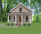 Custom House Home Building Plans 3 bed 2 flrs 1610 sf--- PDF file Cabin House Plans, Duplex House Plans, Small House Plans, House Floor Plans, Cottage Style House Plans, Building Plans, Building A House, Building Ideas, Patio Roof Covers