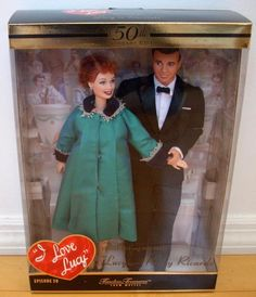 I Love Lucy Barbie - Lucy & Desi