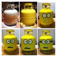 Minion BBQ tank by Justine