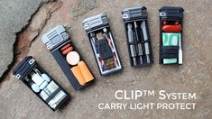 Lever Gear CLiP System: Compact Storage, Driver & Flashlight project video thumbnail