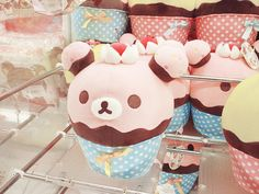 rilakkuma cupcake plush