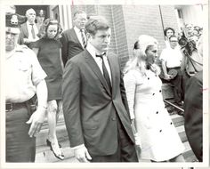 Ted & Joan at Mary Jo Kopechne's funeral Joan Bennett, Ethel Kennedy, Funeral, Mary, History, Google Search, Historia