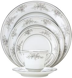 This one was a favourite when I was in high school! Noritake Sweet Leilani