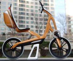 Sleek Electric Mopeds : The Bend Moped