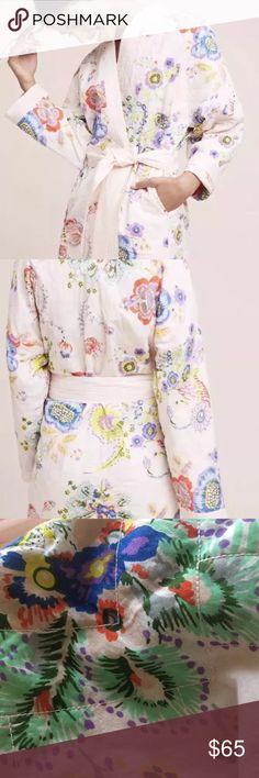 ANTHROPOLOGIE Petulia by lilka lg robe new New never worn Anthropologie Intimates & Sleepwear Robes