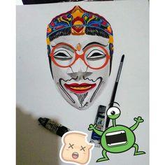 Malangan mask