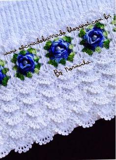 Croche - Minha versão de um diversificado BARRADO ...