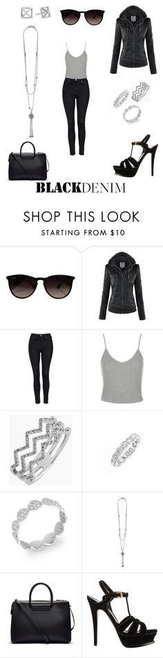 """""""Sin título #635"""" by ani-sinai-t-h ❤ liked on Polyvore featuring Ray-Ban, Topshop, Bony Levy, Lagos, The Row, Yves Saint Laurent, Rebecca Minkoff, women's clothing, women's fashion and women"""