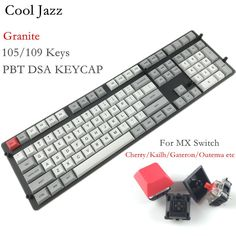 Big discount US $62.82  Cool Jazz DSA dye sublimation pbt 108 keycap Kailh Gateron Cherry mx switch keycaps Granite layout for mechanical keyboard  #Cool #Jazz #sublimation #keycap #Kailh #Gateron #Cherry #switch #keycaps #Granite #layout #mechanical #keyboard  #Online
